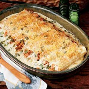 Ham-Stuffed Manicotti Recipe