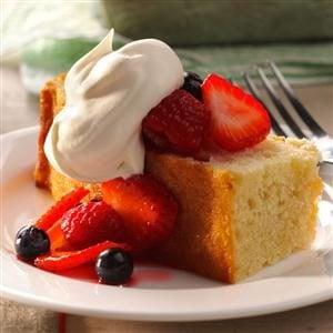 Triple Berry Shortcake Recipe