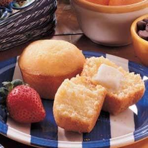 Sweet Corn Bread Muffins Recipe
