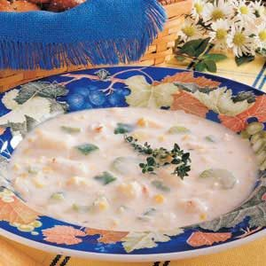 Creamy Crab Bisque