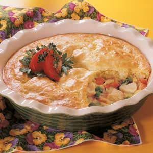 Chicken Biscuit Potpie Recipe