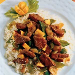 Curried Lamb Stir-Fry