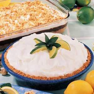 Lime Cheesecake Pie Recipe