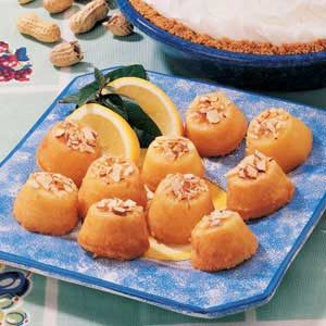 Citrus Mini Cakes Recipe