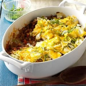 Contest-Winning Cajun Cabbage