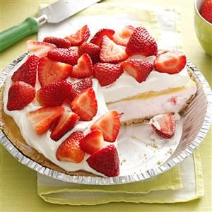 Lemon-Berry Ice Cream Pie