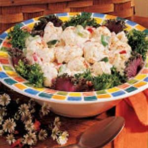 Picnic Cauliflower Salad Recipe