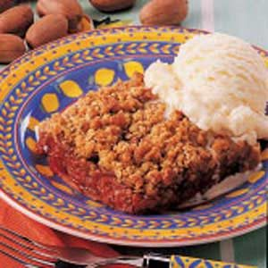 Cherry Nut Crisp Recipe