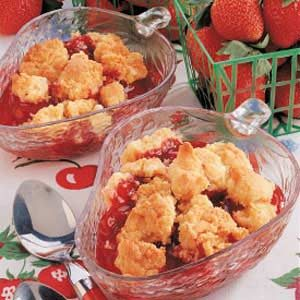 Quick Strawberry Cobbler Recipe