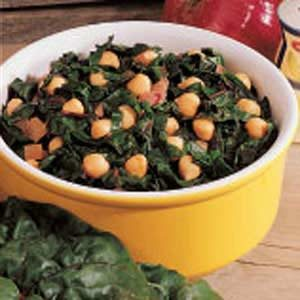 Warm Bean and Chard Salad Recipe