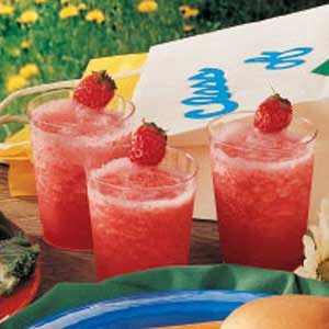 Senior Strawberry Slush Recipe