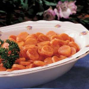 Tangy Carrot Coins Recipe