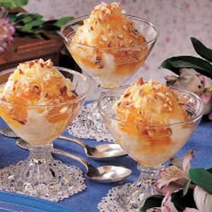 Peachy Sundaes Recipe