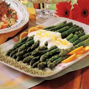 Asparagus with Orange Sauce Recipe