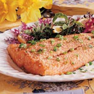 Sesame Salmon Fillet Recipe