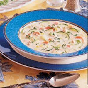 Alaskan Salmon Chowder Recipe