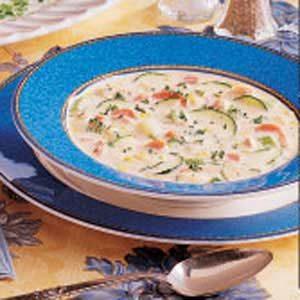 Alaskan Salmon Chowder Recipe