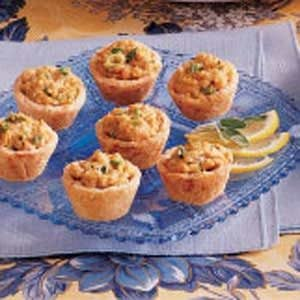 Salmon Tartlet Appetizers Recipe