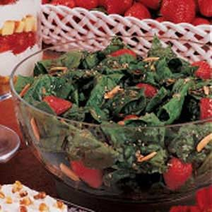 Special Strawberry Spinach Salad Recipe