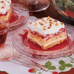 Strawberry Banana Split Cake