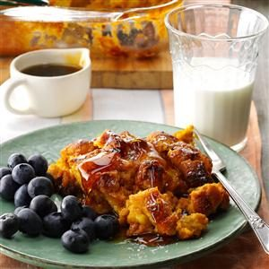 Spiced Pumpkin French Toast Casserole Recipe