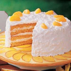 Sunny Coconut Cake Recipe photo by Taste of Home