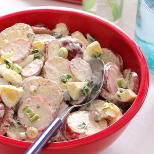 Creamy Red Potato Salad Recipe