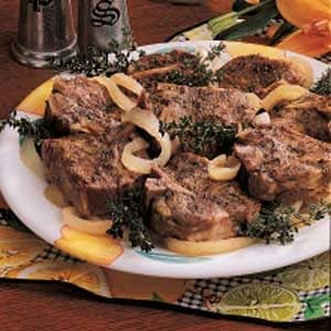 Slow-Cooked Lamb Chops Recipe