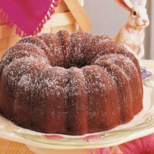 Milk Chocolate Bundt Cake Recipe