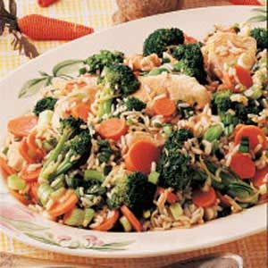 Turkey Stir-Fry Supper Recipe