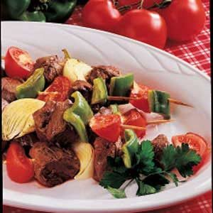 Curried Beef Kabobs Recipe