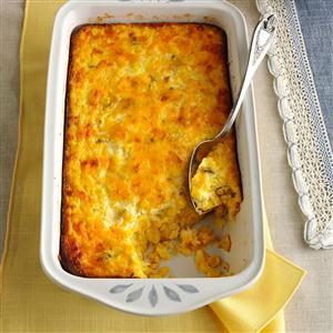 Cape Cod Corn Pudding Recipe