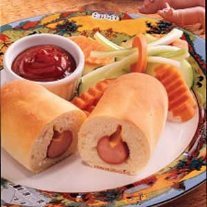 Pigs in a Blanket with Homemade Dough Recipe