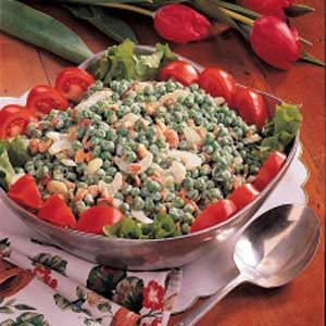 Cashew Pea Salad Recipe