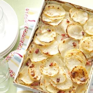 Scalloped Potatoes with Ham Recipe