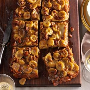 Bananas Foster Baked French Toast Recipe