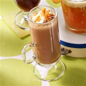 Coconut-Caramel Hot Cocoa Recipe