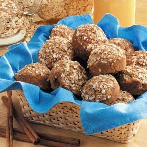 Three-Grain Muffins Recipe