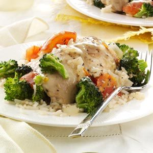 Herbed Chicken and Veggies Recipe
