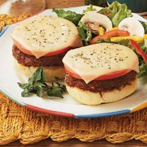 Pronto Pizza Burgers Recipe