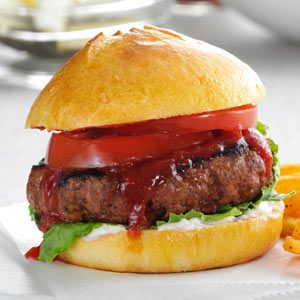 Chili-Cheese Burgers Recipe