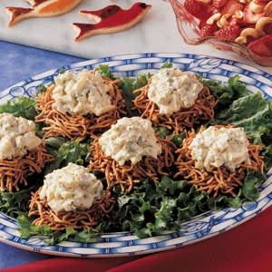 Bird's Nest Egg Salad Recipe