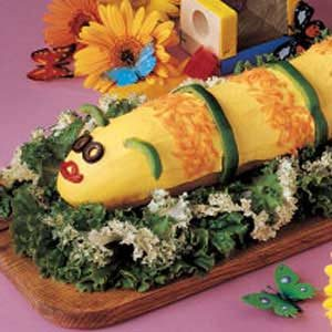 Cute Caterpillar Sandwich Recipe