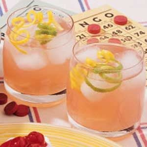 Simple Lemon Berry Pitcher Punch Recipe