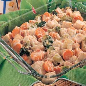 California Chicken Casserole Recipe