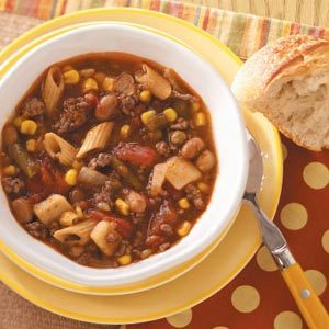 Minestrone Stew Recipe