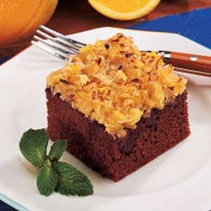 Coconut Gingerbread Cake Recipe