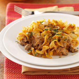 Beef Noodle Bake Recipe