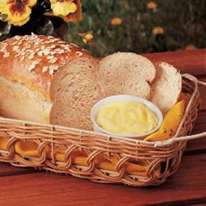 Oatmeal Yeast Bread Recipe