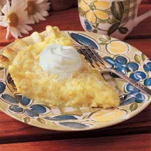 Pineapple Coconut Pie Recipe